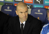 Real Madrid Sporting Diretor Zinedine Zidane — Stock Photo