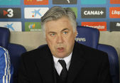 Carlo Ancelotti of Real Madrid — Stock Photo