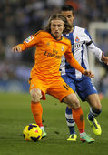 Luka Modric of Real Madrid — Stock Photo