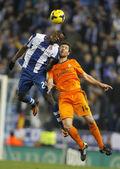Xabi Alonso(R) of Real Madrid — Zdjęcie stockowe