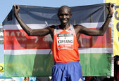 Kenyan athlete Wilson Kipsang — Stock Photo