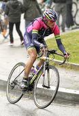 Winner Anacona of Team Lampre-Merida — Stock Photo
