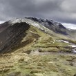 Causey Pike Walk — Stock Photo