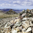 Crag Fell Summit overlooking Ennerdale Water — Stock Photo