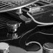 Hollow Body Guitar — Stockfoto