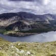 Stock Photo: Crag Fell Summit overlooking Ennerdale Water