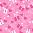 Seamless pattern Valentine's Day — Stockvectorbeeld
