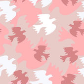 Seamless wedding pattern with sweethearts — Vettoriale Stock