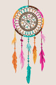 Vector Dream Catcher — Stock Vector