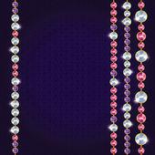 Abstract beautiful diamond background — Stock Vector