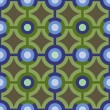 A Colorful Blue and Green Pattern — Vektorgrafik