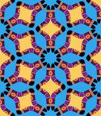Ethnic australian boomerang pattern — Stock Vector
