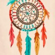Vettoriale Stock : Dream Catcher