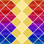 Colorful Harlequin Background. Vector Illustration. — Stock Vector