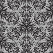Stock vektor: Floral graphic hand-drawn seamless pattern.