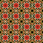 東洋の伝統的な飾り, 東のシームレスなパターン。幾何学的 — ストックベクタ