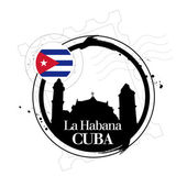 Stamp La Habana — Stock Vector
