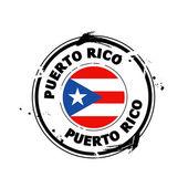Stamp Puerto Rico — Stock Vector