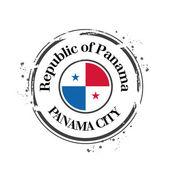 Panama city — Stok Vektör