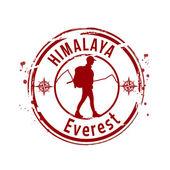 Everest, Himalaya — Stock Vector