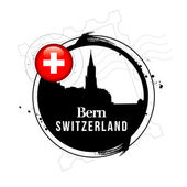 Bern, Switzerland — Stock Vector