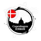 Kopenhaga, dania — Wektor stockowy