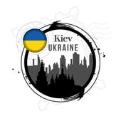 Kiev, Ukraine — Stock Vector