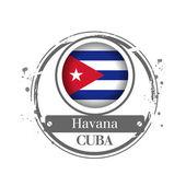 Havana, Cuba — Stock Vector