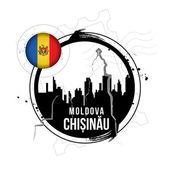 Chișinău, Moldova — Stock Vector