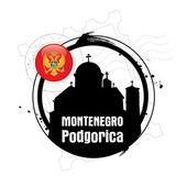 Podgorica, Montenegro — Stock Vector