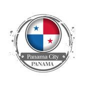 Panama city, Panama — Stock Vector