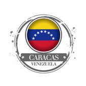 Caracas, Venezuela — Vector de stock