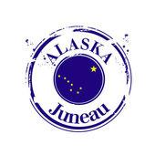 Juneau, Alaska — Stock Vector