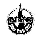 Stamp New York City — Stock Vector