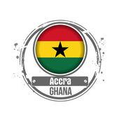 Accra, Ghana — Stock Vector