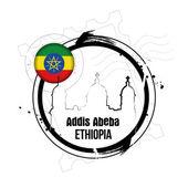 Addis abeba, ethiopie — Vecteur