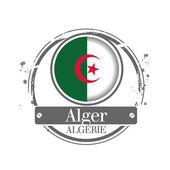 Alger, Algeria — Stock Vector