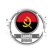 Luanda, Angola — Stock Vector