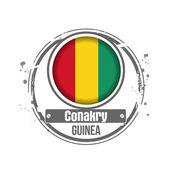 Conakry, Guinea — Stock Vector