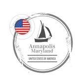 Annapolis, Maryland — Stock Vector