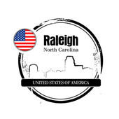 Raleigh, carolina del norte — Vector de stock