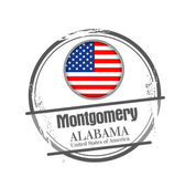 Montgomery, Alabama — Stock Vector