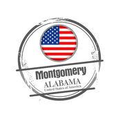 Montgomery, Alabama — Stock Vector