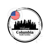 Columbia, South Carolina — Stock Vector