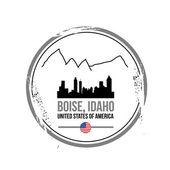 Boise (Idaho — Stockvector