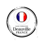 Deauville, France — Stock Vector