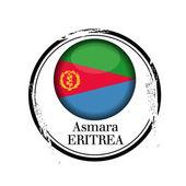 Asmara, Eritrea — Stock Vector