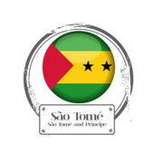 São Tomé and Príncipe — Stockvektor