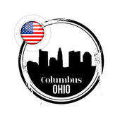 Columbus, ohio — Vector de stock