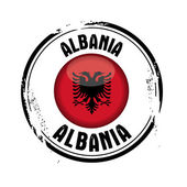 Flag of Albania — Stock Vector